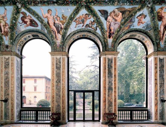 Villa Farnesina e gli affreschi di Raffaello